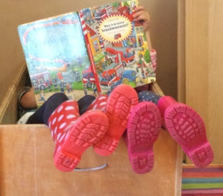lezen in de kinderboekenweek